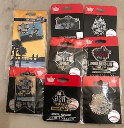 SET OF 8 2016 ALL STAR GAME COLLECTORS PINS SAN DIEGO PADRES