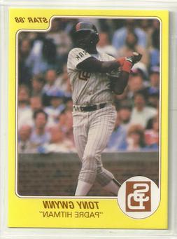 Tony Gwynn 1988 Star Company San Diego Padres Promo Card