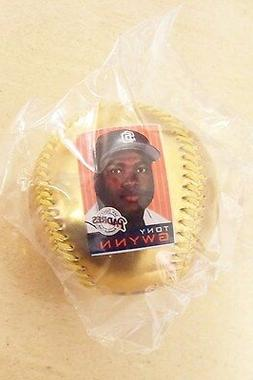 Tony Gwynn Career of Excellence gold ball SD San Diego Padre
