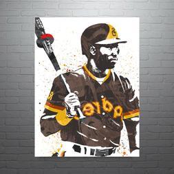 Tony Gwynn San Diego Padres Poster FREE US SHIPPING