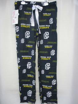 Women's MLB San Diego Padres PJ Pajama Pants Team Apparel SM