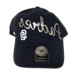 Womens '47 Brand San Diego Padres Sequin Baseball Adjustable