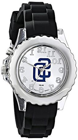 "Game Time Youth MLB-FLB-SD ""Flash Black"" Watch - San Diego P"